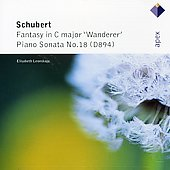 Schubert: 'wanderer' Fantasy Op.15, Piano Sonata No.18