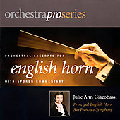 Orchestra Pro Series - English Horn / Julie Ann Giacobasso