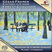 Franck, Chausson: Symphonies / Janowski, et al