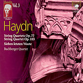 Haydn: String Quartets Vol 3 / Buchburger Quartet