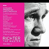 Richter The Master Vol 3 - Scriabin, Prokofiev, Shostakovich