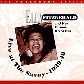 Ella Fitzgerald: Live at the Savoy 1939-40
