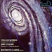 Mathias, Pickard: Piano Music / Raymond Clarke