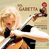 Shostakovich: Concerto and Sonata for Cello / Sol Gabetta