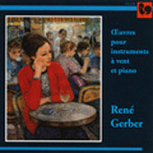 Gerber: Concertino for Wind Instruments, Piano & Percussion, etc /  Delley, Urech, Michon, Gallon, et al