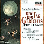 Telemann: Der Tag des Gerichts / Max, Monoyios, Cordier