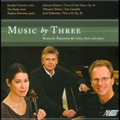 Music by Three / Works for horn, viiolin & piano