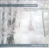 Franz Schubert: Piano Trio in E flat major, D 929, Unabridged Version