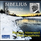 Sibelius: Symphonies Nos. 1-7 / Maurice Abravanel