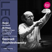 Holst: The Planets; Britten: Variations & Fugue on a Theme of Purcell / Rozhdestvensky