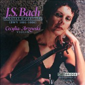 J.S Bach: The Sonatas and Partitas for Solo Violin, BWV 1001-1006 / Cecylia Arzewski, violin