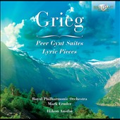 Grieg: Peer Gynt Suites; Lyric Pieces / Hakon Austbo, piano; Royal PO, Mark Ermler