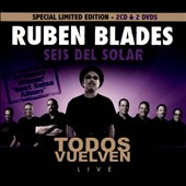 Rub&#233;n Blades y Seis del Solar/Rub&#233;n Blades: Todos Vuelven: Live [Digipak] *