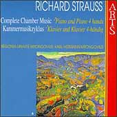 R. Strauss: Complete Chamber Music Vol 8 - Piano and 4 Hands
