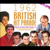Various Artists: The 1962 British Hit Parade, Pt. 1: January-May [Acrobat] [Box]