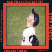 Ricardo Scales: San Francisco Giants: Keep Coming Tribute CD