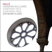 Vaughan Williams: Symphonies Nos. 5 & 8 / Mark Elder, Hallé Orchestra