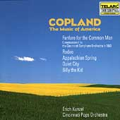 Copland - The Music of America / Kunzel, Cincinnati Pops