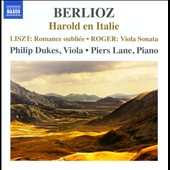 Music for viola & piano by Berlioz, Liszt and Kurt Roger / Philip Dukes, viola; Piers Lane, piano