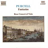 Purcell: Fantazias / Rose Consort of Viols