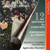 Mendelssohn: 12 Symphonies for Strings / Duczmal, et al