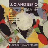 Berio: Chamber Music - Serenata I, etc / Avantgarde