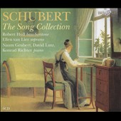 Schubert: The Song Collection / Robert Holl, bass-baritone; Ellen van Lier, soprano; Naum Grubert, Konrad Richter, David Lutz, piano