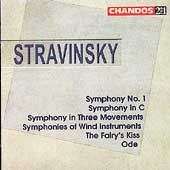 Stravinsky: Symphonies, Fairy's Kiss, Ode / Nash Ensemble