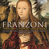 Amante Franzoni (1575-1630): Choral Works -