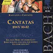 Edition Bachakademie Vol 26 - Cantatas BWV 80-82 / Rilling