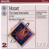Mozart: The Great Serenades / Sir Neville Marriner, ASMF