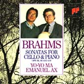 Brahms: Sonatas for Cello & Piano / Yo-Yo Ma, Emanuel Ax