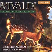 Vivaldi: String Concertos Vol 2 / Simon Standage, et al