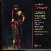 Handel: Deborah / King, Kenny, Gritton, King's Consort