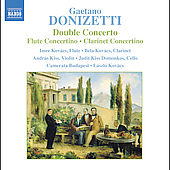 Donizetti: Double Concerto, etc / Kov&aacute;cs, Camerata Budapest