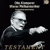 Wiener Philharmoniker - live performances / Klemperer
