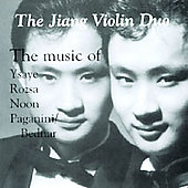 The Music of Ysaye, Rozsa, Noon, and Paganini
