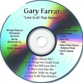 Gary Farrar: Love Is All That Matters
