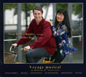 Voyage Musical - Music for violin & piano by Stravinsky, Bloch, Hindemith, Schoenberg, Prokofiev / Noah Bendix-Balgley, violin; Reiko Hozu, piano