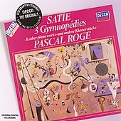 Satie: 3 Gymnopédies & other piano works / Pascal Rogé