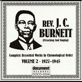 Rev. J.C. Burnett: 1927-1945, Vol. 2 *
