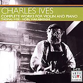 Ives: Complete Works for Violin and Piano / Wakabayashi