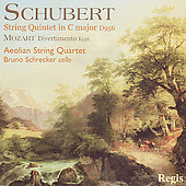 Schubert: String Quintet;  Mozart / Aeolian Quartet, et al