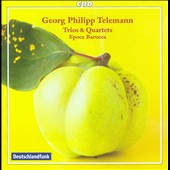 Telemann: Trios & Quartets / Epoca Barocca