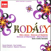20th Century Classics: Kodaly / Vladimir Yompoisky, piano; Paul Tortelier, cello