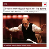 Stravinsky conducts Stravinsky: The Ballets - Firebird, Petrushka, Rite of Spring et al. [7 CDs]