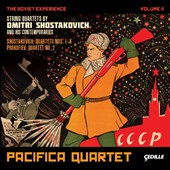 The Soviet Experience, Vol. 2: String quartets by Shostakovich & his contemporaries / Pacifica Quartet