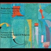 Martinu: Violin Concerto No. 1; Symphony No. 1 / Lorenzo Gatto, violin