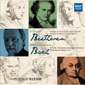 CPE Bach: Prelude, Variations & Fugue; Beethoven: Piano Sonatas Nos. 31 & 32 / Cameron Watson, piano