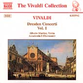 Vivaldi: Dresden Concerti Vol 1 / Alberto Martini, et al